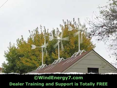 Small Wind Turbines Birds