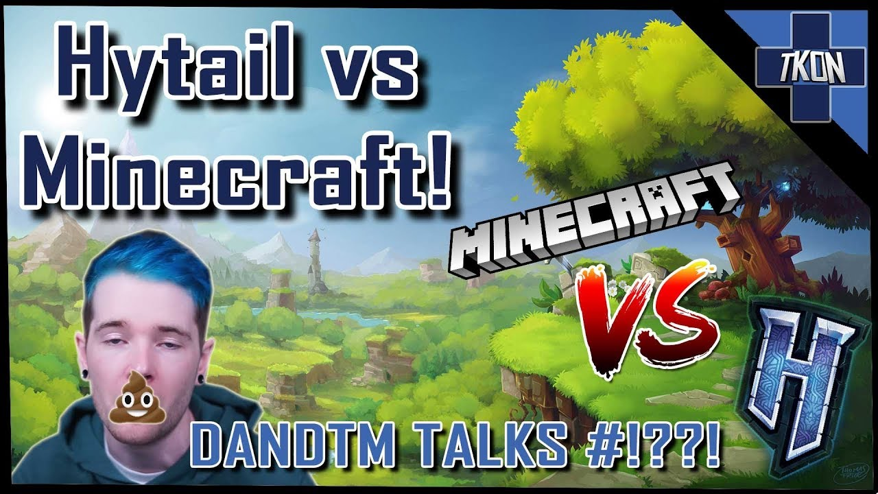 HYTALE IS NOT MINECRAFT TWO *DanTDM Talks Rubbish!* RAGE INCLUDED!!!