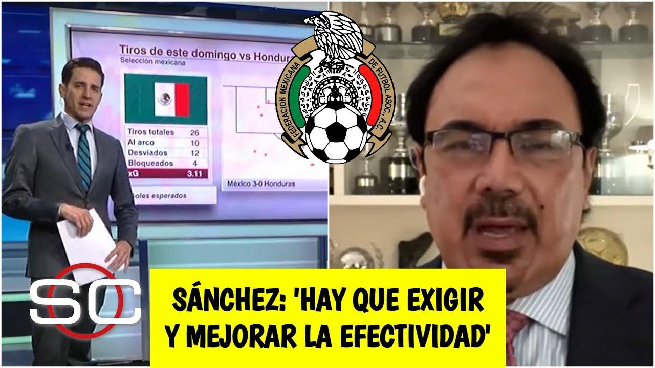 MÉXICO goleó, gustó y ganó vs Honduras. Hugo Sánchez fue crítico y exige más al Tri