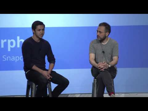 Google Cloud Platform Live: Interview with SnapChat's Bobby Murphy