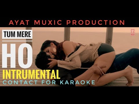 Tum Mere Ho ( Reprise Version ) Instrumental - Karaoke   Hate Story IV      Mithoon