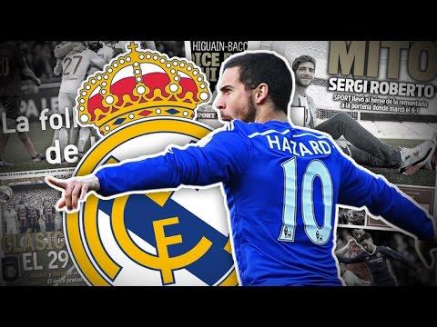 La réponse d'Eden Hazard au Real Madrid pour le mercato d'été | Revue de presse