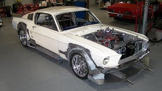 1967 ford mustang fastback widebody 570hp t56 build project