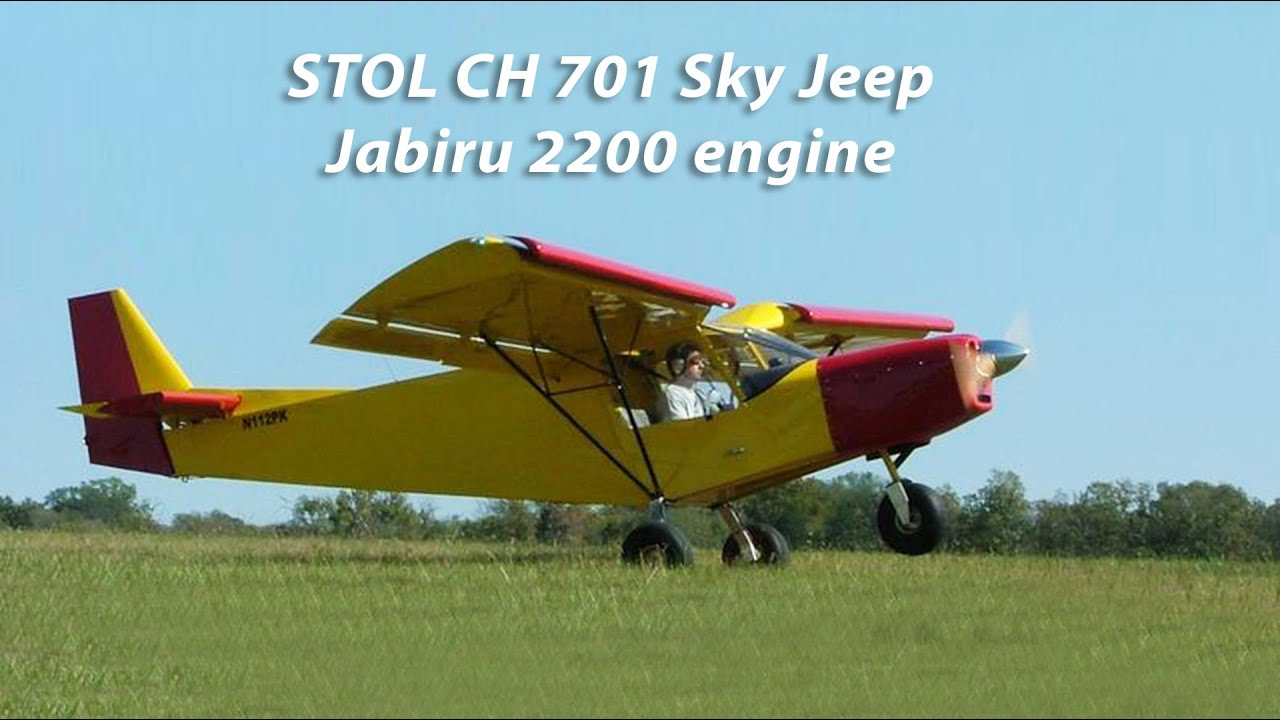 Test flying the Zenair CH701 STOL airplane with the Jabiru 2200 engine