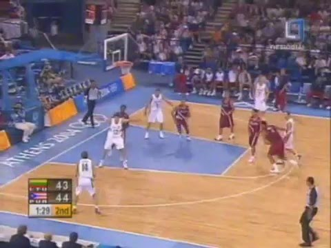 Lithuania vs Puerto Rico 2004 Athens Olympics Men