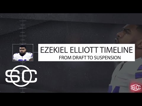 Ezekiel Elliott Timeline: From Draft To Suspension | SportsCenter | ESPN