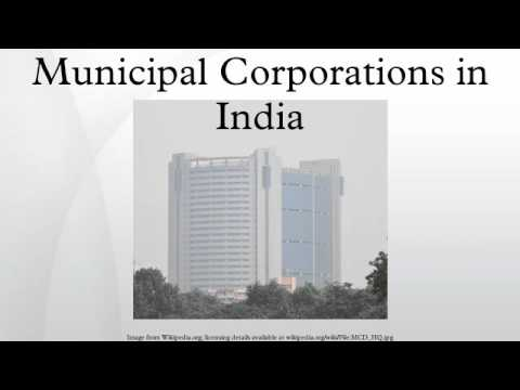 Municipal Corporations in India