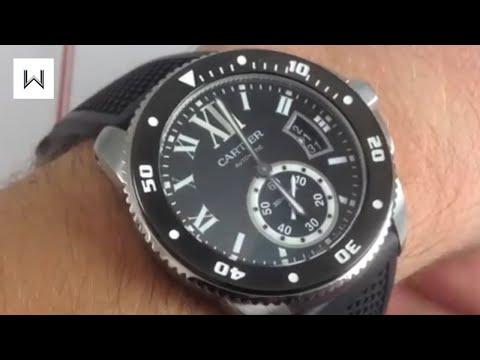 Cartier Calibre de Cartier Diver Luxury Watch Review