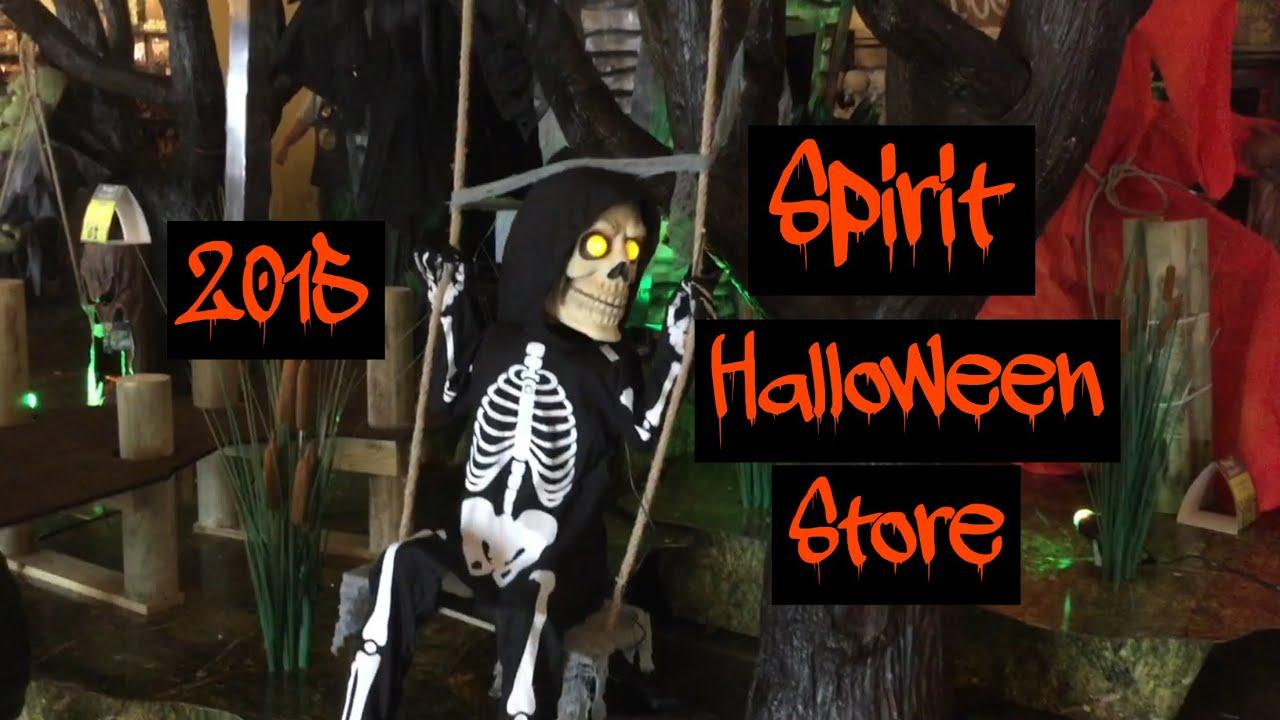 2015 spirit halloween store creepy stuff
