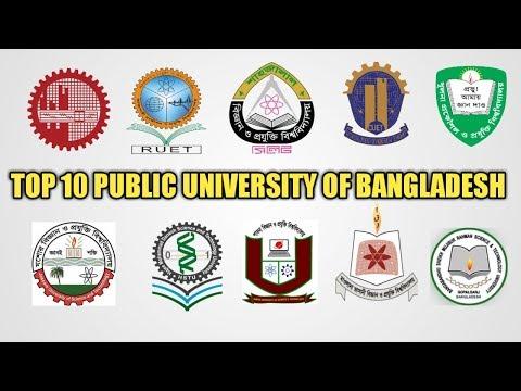 "Top 10 public  ""Engineering University"" & ""Science & Technology"" University Ranking in bd 2017"