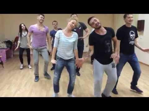 репетиция флешмоба от Андрея Царя Анатоличу!