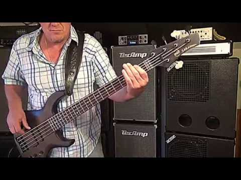 USA MTD custom Saratoga 5 - Andy Irvine