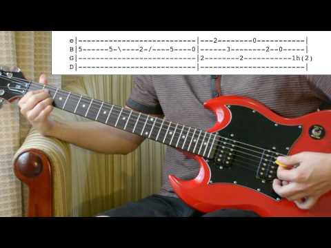 Beatles Words of Love detailed solo lesson with tabs