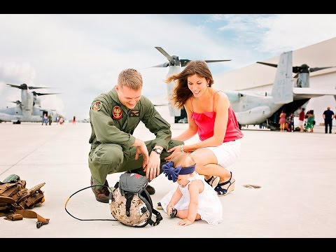 Marine Corps Homecoming - Halsmer Family