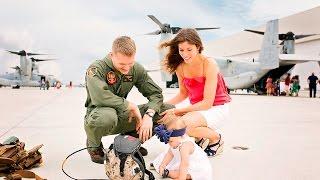 Marine Corps Homecoming - Halsmer Family
