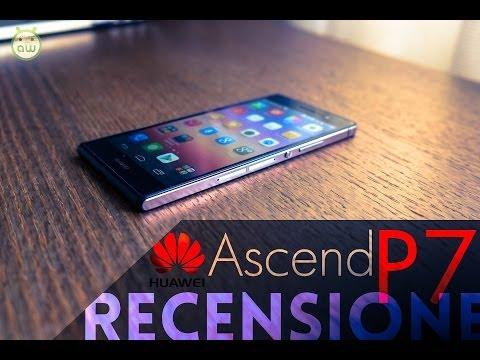 Huawei Ascend P7, recensione in italiano