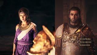 Assassin's Creed Odyssey Aspasia Romance/Hints