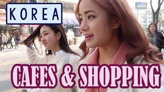 Korea Vlog: Cafes & Shopping! | KimDao in KOREA ft. Sunnydahye