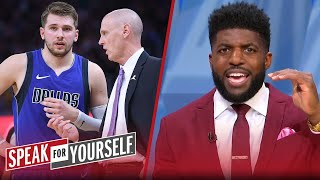 Mavericks are giving Luka Doncic too much power — Emmanuel Acho | NBA | SPEAK FOR YOURSELF