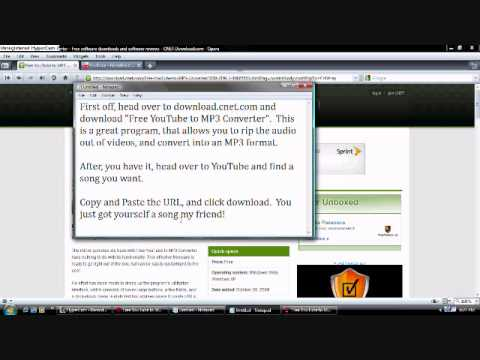 How To Download Music From Youtube!! Easy and virus-free!