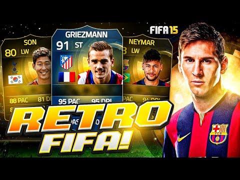 I went back on FIFA 15...