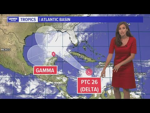 Sunday 4 pm tropical weather update: Tropical Storm Delta to form before heading to La. Gulf Coast