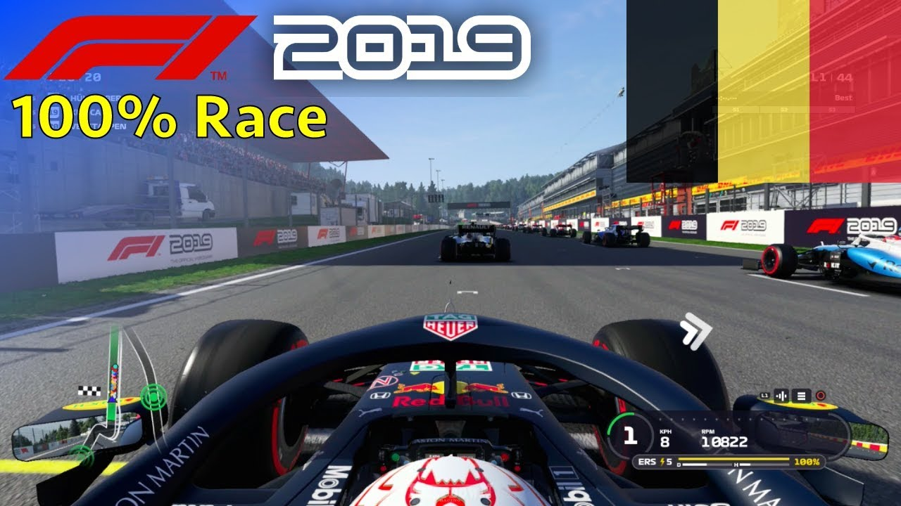 F1 2019 100 Race At Spa Francorchamps In Verstappen S Red Bull