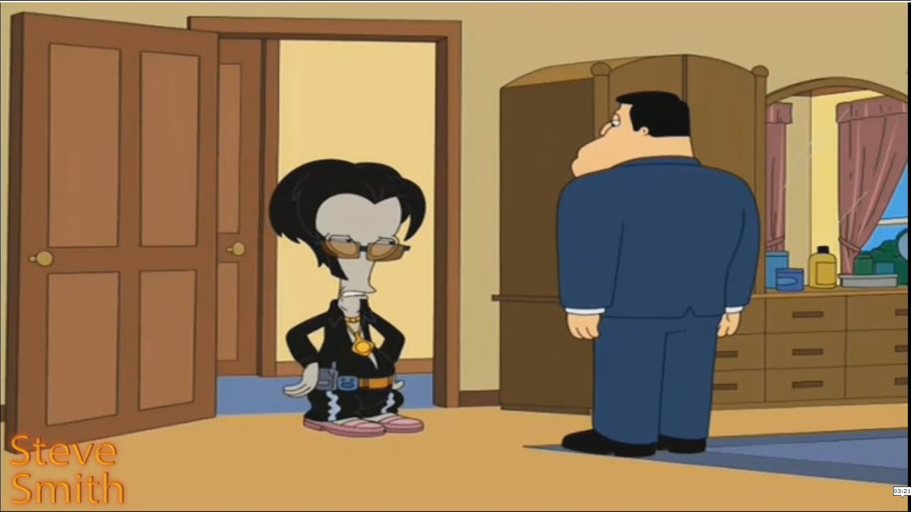 Download American Dad - Roger is a playboy