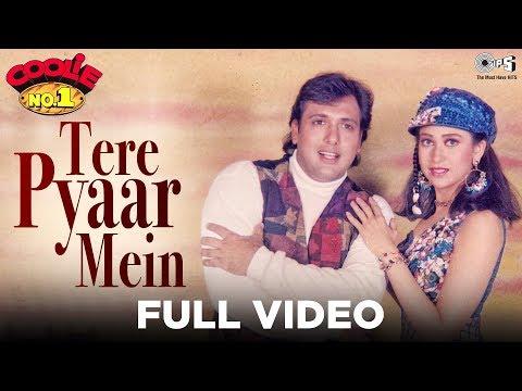 Tere Pyar Main Dil Deewana - Coolie No. 1 | Govinda & Karisma Kapoor | Udit Narayan & Alka Yagnik