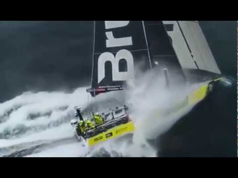 Volvo Ocean Race, Team Brunel drone launch