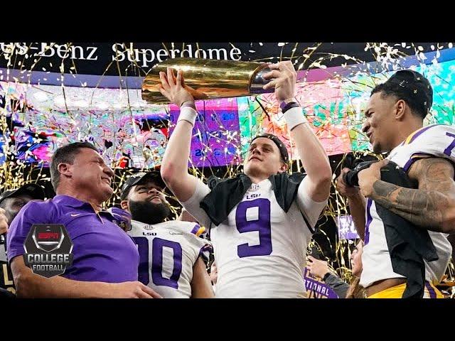 Clemson vs. LSU: CFP National Championship | College Football Highlights