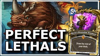 Hearthstone - Best of Perfect Lethals