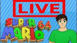 Super Mario 64 - 120 Star Run (Speedrun Practice?) Part 3
