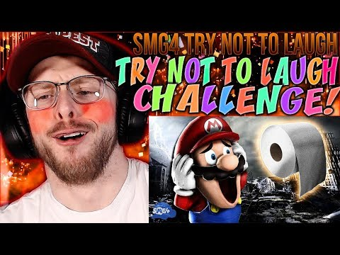 """Vapor Reacts #1045   SMG4 TRY NOT TO LAUGH """"Mario Runs Out Of Toilet Paper"""" By SMG4 REACTION!!"""