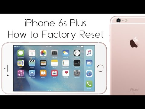 how to factory reset iphone iphone 6s plus how to reset back to factory settings 17149