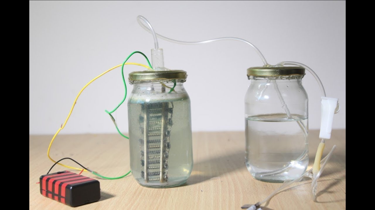 Home Hydrogen Generator >> How to make a mini Hydrogen Generator | Full Tutorial | Science Experiment - YouTube