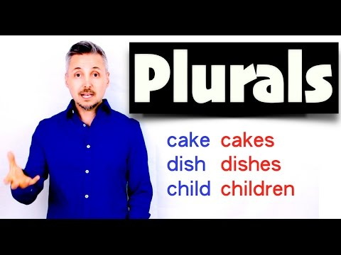 Lesson On How To Make PLURALS (GREAT Lesson ! - Don't Miss Out !)