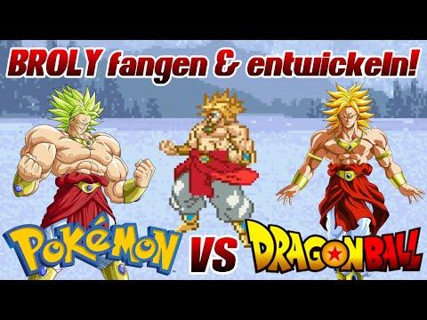Dragon Mon Z - BROLY fangen UND Entwickeln!   POKÉMON und DRAGON BALL Z Team Training