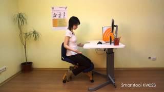 Обзор и настройка коленного стула SmartStool KW02B (версия до 2017 года)