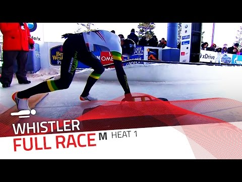 Whistler | BMW IBSF World Cup 2015/2016 - Men's Skeleton Heat 1 | IBSF Official