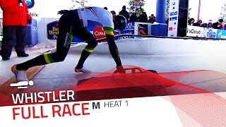Whistler | BMW IBSF World Cup 2015/2016 - Men's Skeleton Heat 1 | IBSF Official