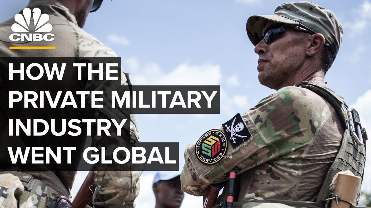 How the Private Military Industry went Global