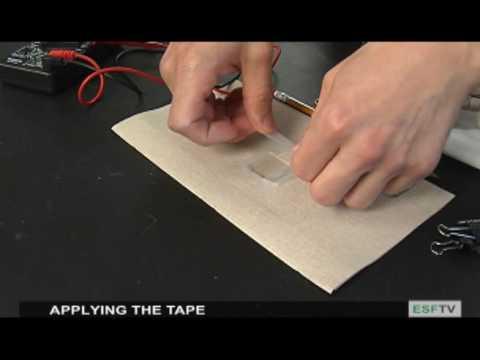 Constructing a Dye Sensitized Solar Cell