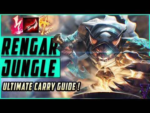 RENGAR JUNGLE: Ultimate Carry Guide | One Shot In Season 10 League Of Legends