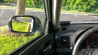 Reverse / Backup Mirror tilt module install 2013 Subaru WRX
