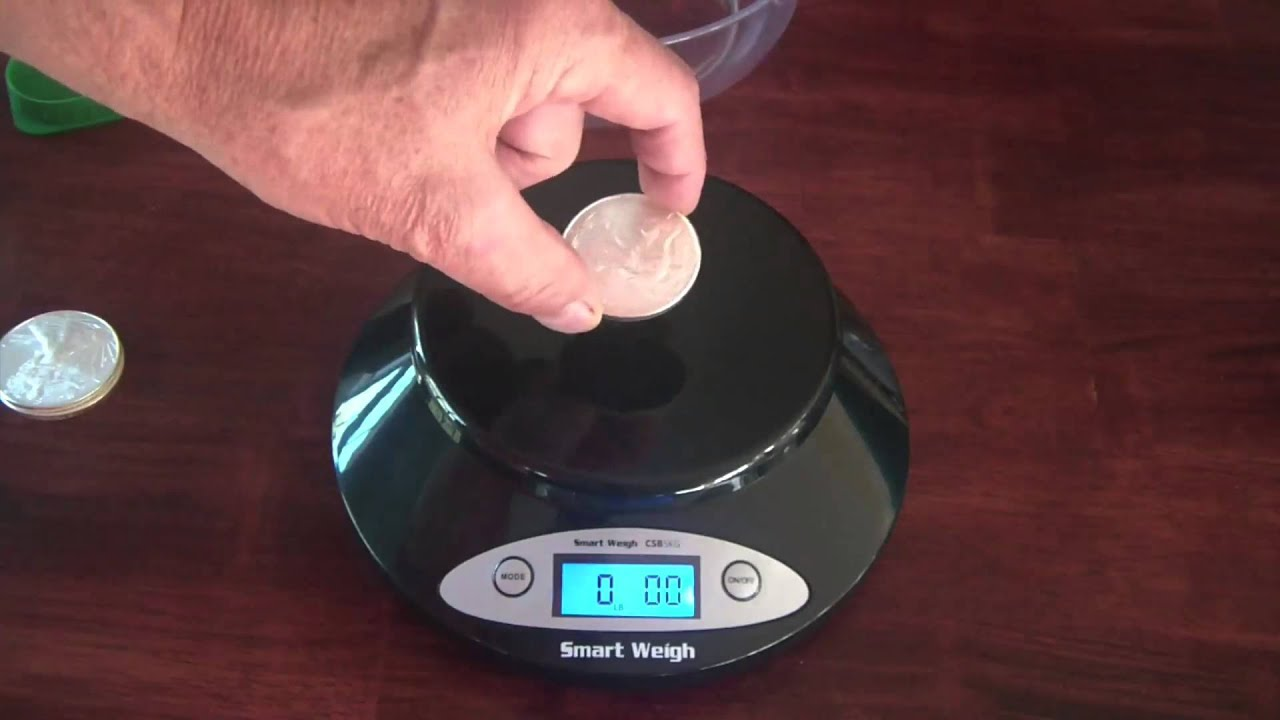 Review Smart Weigh 5kg digital scale accurate to 1 gram ...