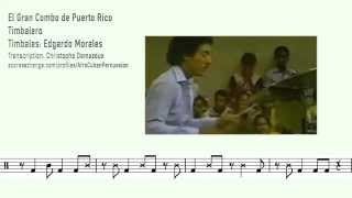 Edgardo Morales - Timbalero - Solo + Transcription