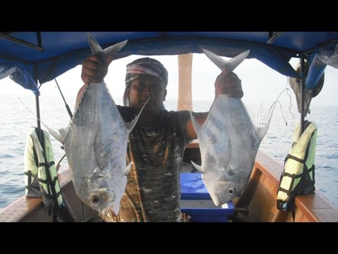ตกปลาทะเลอันดามัน จ.ระนอง