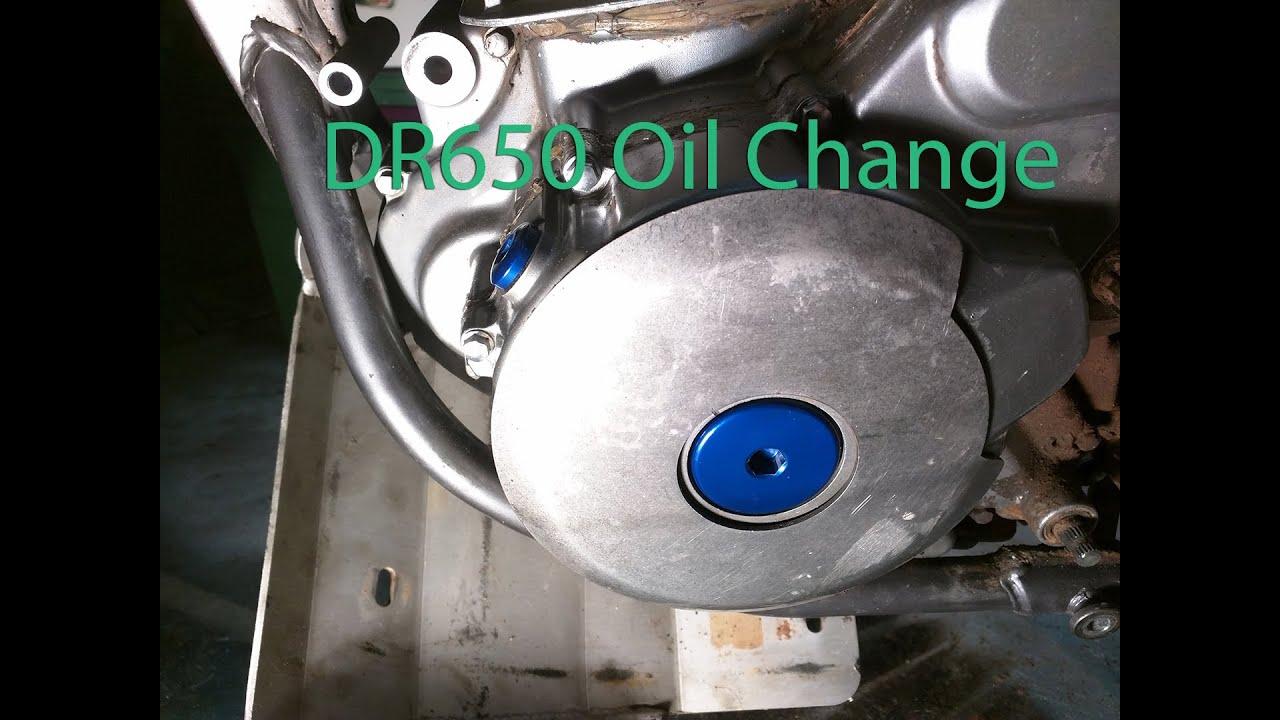 DR650 Oil Change