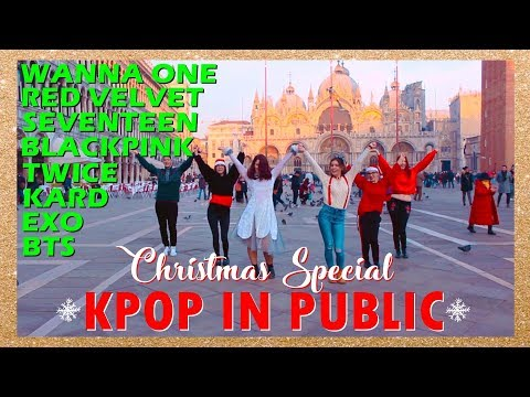 [Christmas Special] KPOP IN PUBLIC Challenge #2 ❄️ Random Age from ITALY
